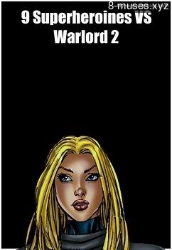 9 Superheroines VS Warlord 2 Erotica Comics