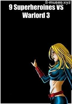 9 Superheroines VS Warlord 3 Erotica Comics