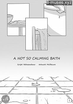 A Not So Calming Bath XXX comic