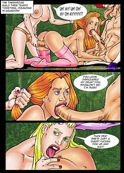 8 muses comic Alice In Monsterland 4 - A Sexy Tea Party image 5