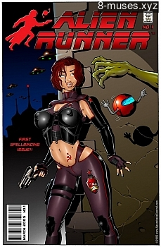 Alien Runner XXX comic
