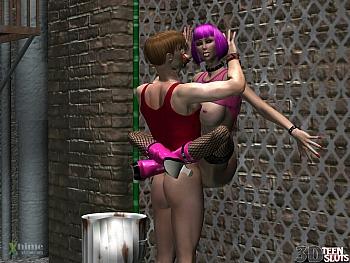 8 muses comic Alley Slut image 10
