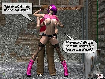 8 muses comic Alley Slut image 4