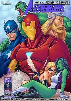 Assvengers 1 Free xxx Comics