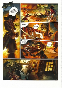 8 muses comic Black Wade - The Wild Side Of Love image 12