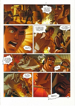 8 muses comic Black Wade - The Wild Side Of Love image 13