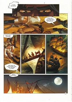 8 muses comic Black Wade - The Wild Side Of Love image 14
