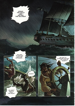 8 muses comic Black Wade - The Wild Side Of Love image 32