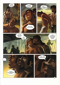 8 muses comic Black Wade - The Wild Side Of Love image 37