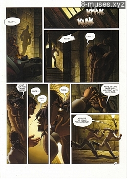 8 muses comic Black Wade - The Wild Side Of Love image 61
