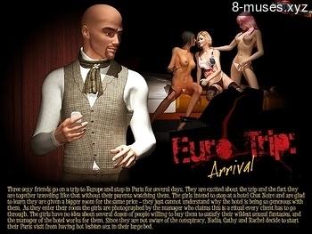 Euro Trip 1 – Arrival Porn Comix