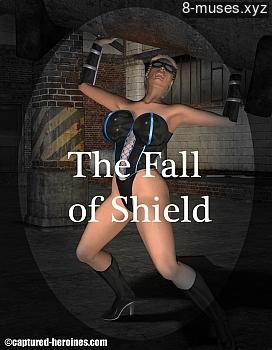 Fall Of Shield XXX comic