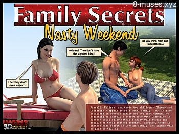 8 muses comic Family Secrets - Nasty Weekend image 1