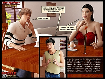 8 muses comic Family Secrets - Nasty Weekend image 17