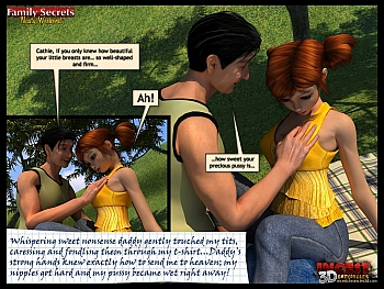8 muses comic Family Secrets - Nasty Weekend image 25
