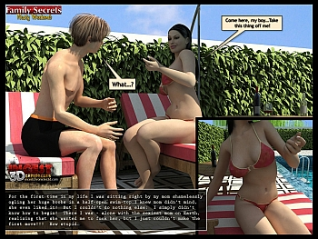 8 muses comic Family Secrets - Nasty Weekend image 46