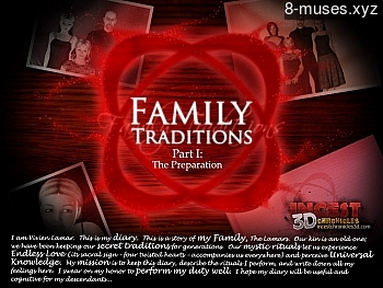 Family Traditions 1 – The Preparation XXX comic