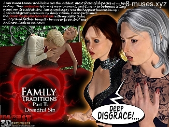 Family Traditions 2 – Dreadful Sin XXX comic