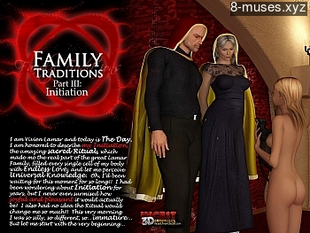Family Traditions 3 – Initiation XXX comic