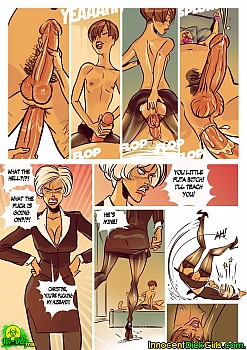8 muses comic Family Value image 13