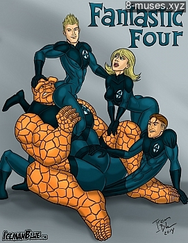 8 muses comic Fantastic Four image 1