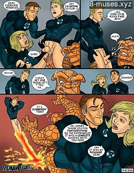 8 muses comic Fantastic Four image 11