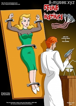 Feline Instincs XXX comic