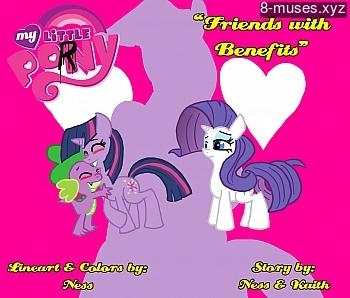 Friends With Benefits XXX comic