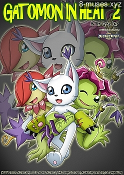 Gatomon In Heat 2 XXX comic