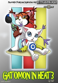 Gatomon In Heat 3 XXX comic