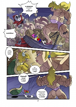 8 muses comic Growth Queens 1 - Power Corrupts image 7