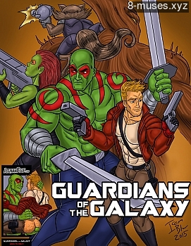 Guardians Of The Galaxy XXX comic