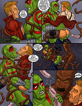8 muses comic Guardians Of The Galaxy image 10