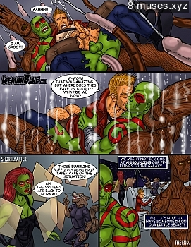 8 muses comic Guardians Of The Galaxy image 11