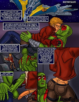 8 muses comic Guardians Of The Galaxy image 2