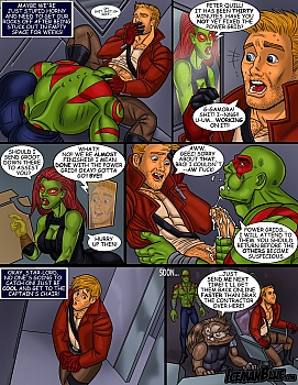 8 muses comic Guardians Of The Galaxy image 3