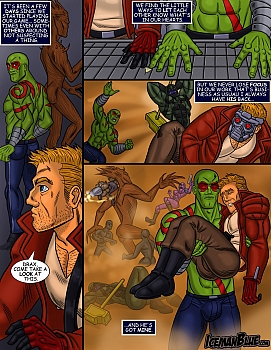 8 muses comic Guardians Of The Galaxy image 5