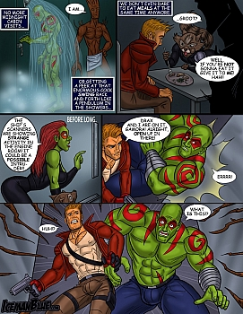 8 muses comic Guardians Of The Galaxy image 8