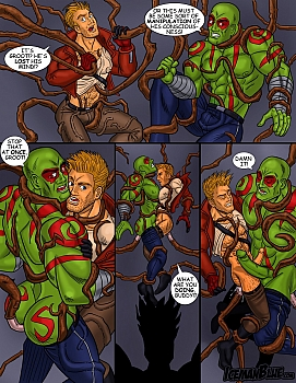 8 muses comic Guardians Of The Galaxy image 9
