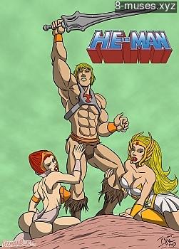 He-Man XXX comic