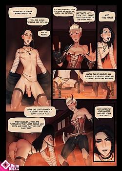8 muses comic Hella Trap image 3