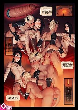 8 muses comic Hella Trap image 7