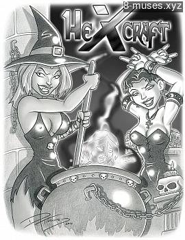 Hexcraft XXX comic