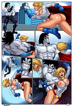 8 muses comic Horny Superheroines image 2
