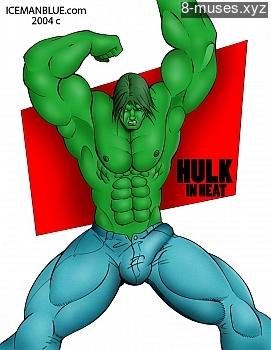 Hulk In Heat XXX comic