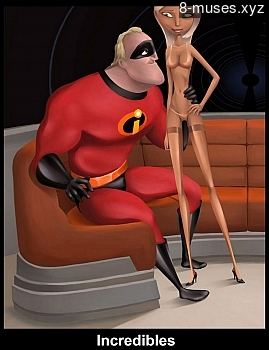 Incredibles XXX comic