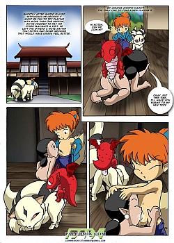8 muses comic InuYasha image 7