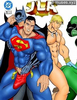 JLA XXX comic