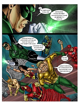 8 muses comic JLA - The Return Of The Warlord image 10