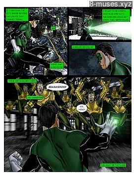 8 muses comic JLA - The Return Of The Warlord image 11